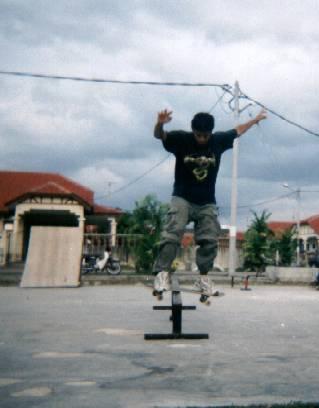 Budak skate Taman Sri Semantan dan Temerloh Jaya